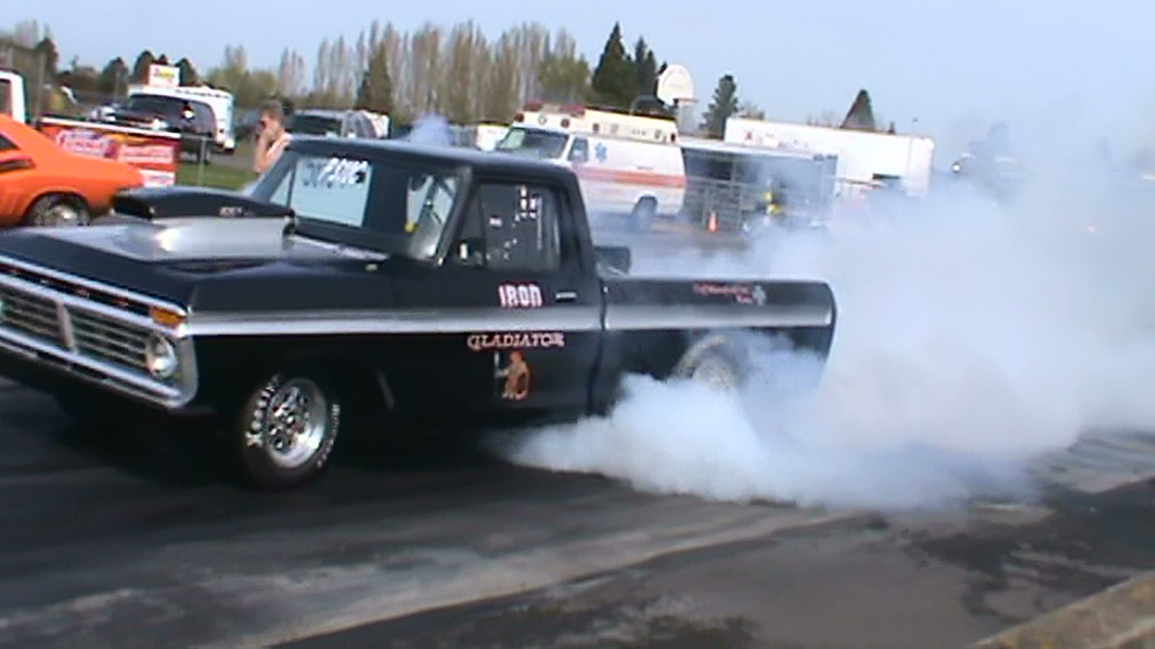 1973 Ford Trucks Pushed the 1973 ford f-100