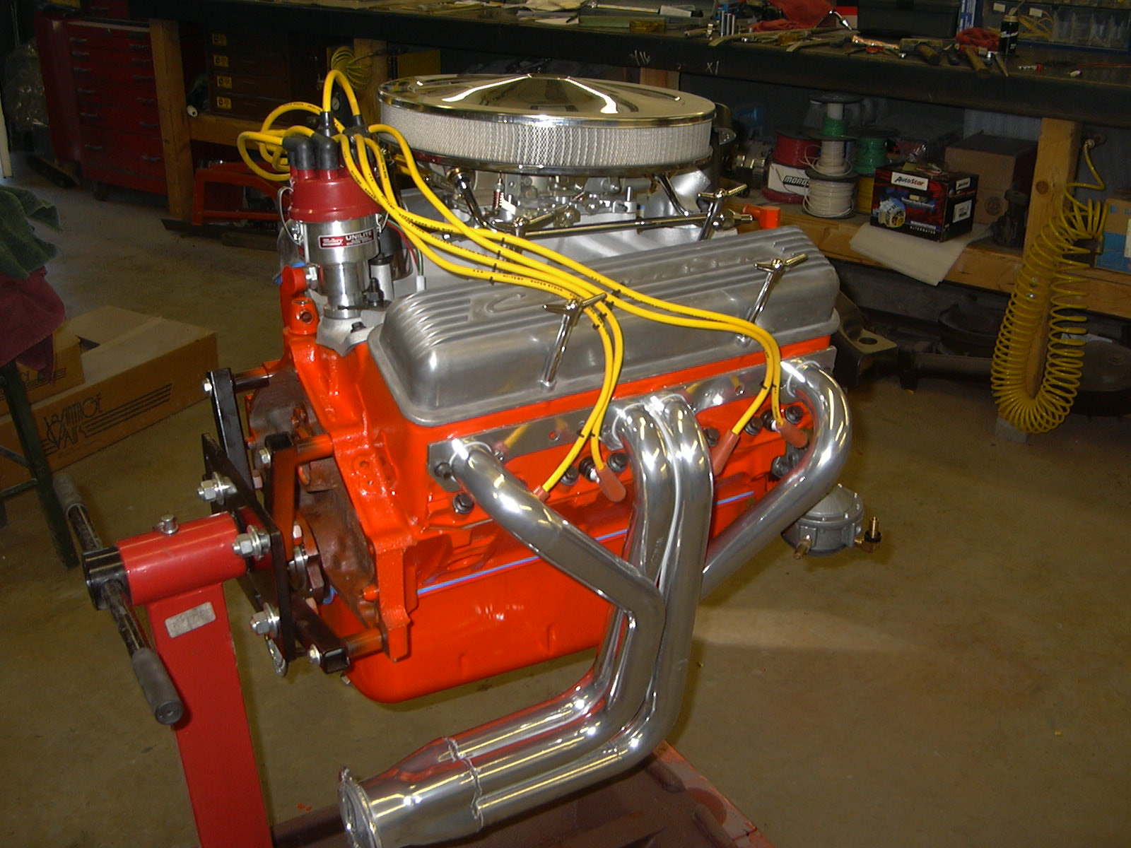 This is a build-up of a hot little 327 Chevy